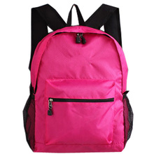 Wholesale custom printed colorful nylon waterproof rucksack backpack