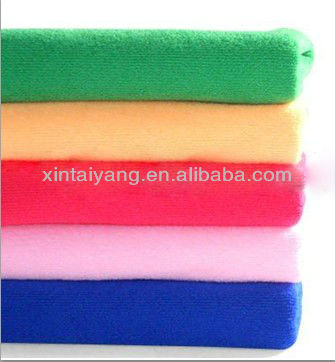cotton waffle weave bright colored bath towel,royale hotel bench bath towel
