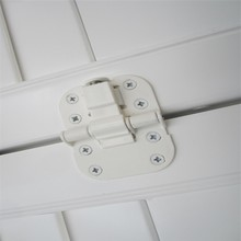 High quality cheap nickel hinge white hinge vinyl shutter parts