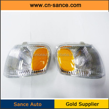 MANUFACTURE TOP QUALITY Corner Parking Side Marker Turn Signal Lights Pair Set for 98-00 Toyota Corolla