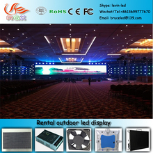 RGX T150 Die-Casting Aluminum Outdoor Rental LED Display P8 SMD precise die-cast aluminum outdoor rental stage background LED s