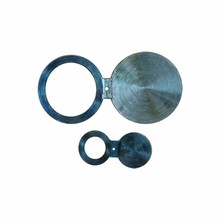 Professional uns n06600 spectacle blind flange asme b16.5 weld neck wn flange a105 material welded neck flange