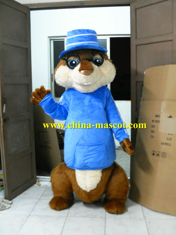 Alvin and the Chipmunks mascot costume