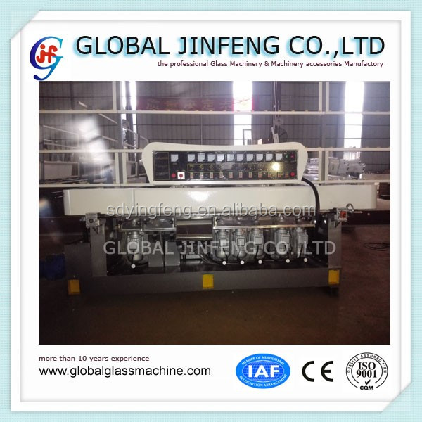 JFZ10325 10 motor glass straight line edging grinding and polishing machine