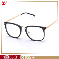 Elegant PC and Metal combine fashion optical frame