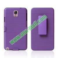 Belt Clip Combo Holster Case For Samsung Galaxy Note 3 N9000