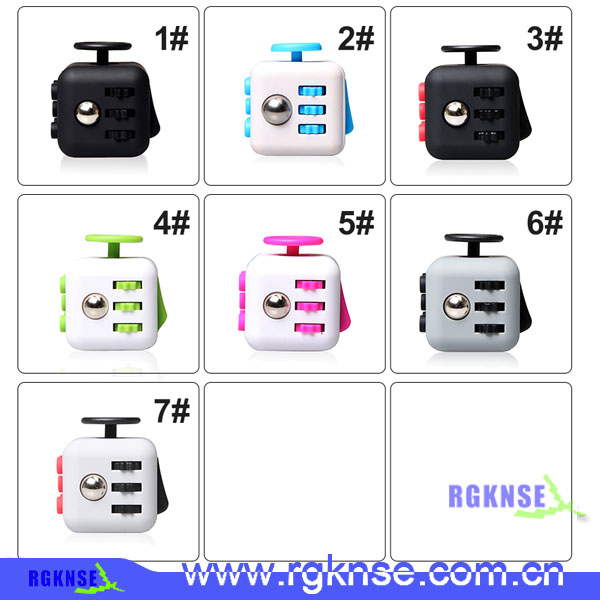 2017 hot trending new Fidget Cube Relieves Stress And Anxiety anti stress cube toy for Children and Adults