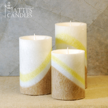 Matti's Wholesale home decoration stearic acid led flameless candle