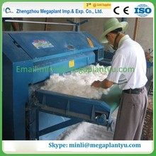 Automatic sheep wool and cotton combing machine