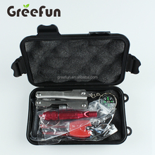 10 In 1 Earthquake Emergency Kits , SOS Survival Gear Survival Kit With Knife , Multipurpose Pocket Survival Tool Equipment