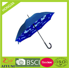 hot sale fashional Korean umbrella heat transfer cloud pictures for men and women