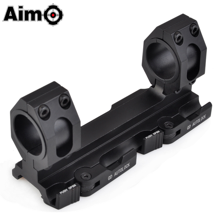 Tactical Adjustable 25.4mm - 30mm Ring Mount Double Rings Flashlight Mount Scope Mount