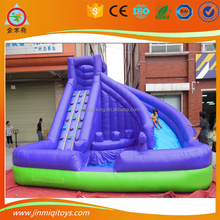 Big water JMQ-G0005 jumping castle slide inflatable pool