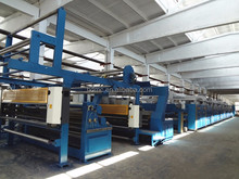 Textile stenter drying setting machine
