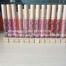 Kylie lip kit matte liquid lipstick <strong>cosmetics</strong> of 12 colors long lasting lip gloss