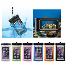 Universal Cellphone PVC Waterproof Case Cover Dry Bag for iphone 6S / 6 / 5 / 5S / 5C for Samsung Galaxy S3 /S4 /S5