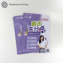 Custom Made Advertising Leaflets/Commercial Leaflet Printing/Full Color Poster Printing