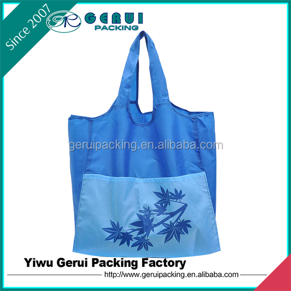 Factory directly Eco-friendly Good Quality Polyester Shopping Bag