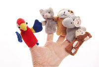 novelty custome-made various animal yoys finger stall puppets