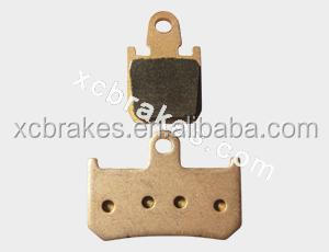 Good material quality NGBBP brand motorcycle&atv sintered ,semi-metal brake pads for YAMAHA