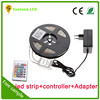 Low voltage 12v kit 5050 rgb led light strip multicolor led stripes ce rohs certified