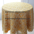 new elegant glitter gold table cloth /wedding table cloth