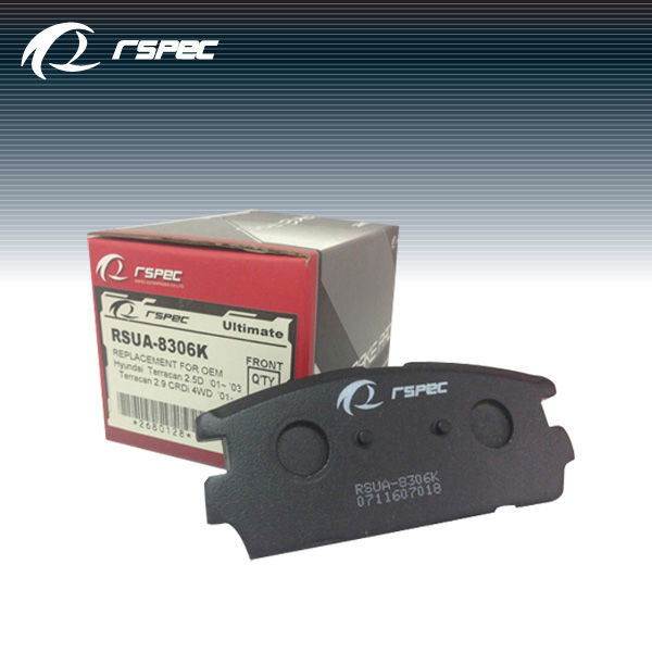 RSPEC top quality auto spare parts brake pad cross reference