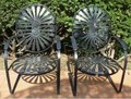 Wrought Iron Spring Chairs