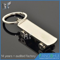 Wholesale fashionable cheap bulk shoe keychains china for sale