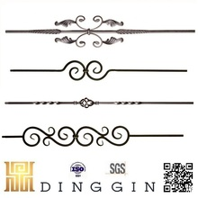 wrought iron balusters wholesale for gate decoration