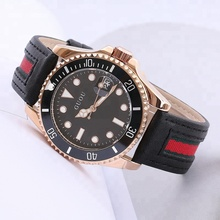Hong Kong GUOU Quartz Watch Rose Gold Fashion Factory Watch women men 8077