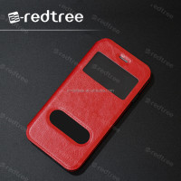 window korea design leather cover case for cell phone