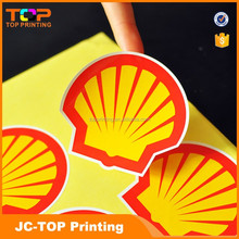 Cheap Price Custom Brand Logo Printed Self-adhesive paper sticker