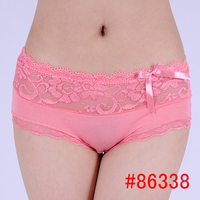 Mature women bamboo underwear ladies panty brand names cotton lace panties