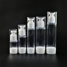 New product 15ml 30ml 50ml 100ml airless cosmetic dispenser pump bottle wholesales
