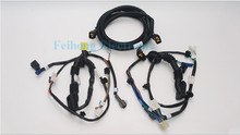 Custom automotive connector OEM pigtail harness cable assembly