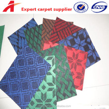 low price wall to wall polyester jacquard carpet for home office