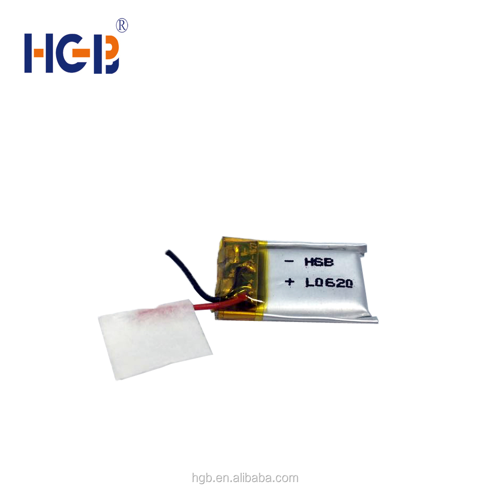 3.7V Nominal Voltage and Li-polymer Type 3.7 v 60 mah lithium polymer <strong>battery</strong> HGB 301421 small lithium <strong>battery</strong>