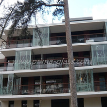 Prima safety printing glass digital printed glass for residential buildings