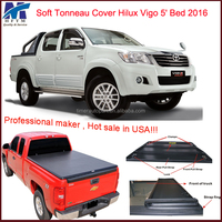 Car accessories shop toyota hilux Vigo 5' Bed 2016 bed caps for trucks