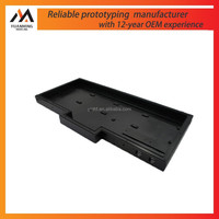 CNC machining&Injection moulding black PC ABS cover case