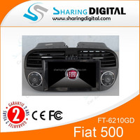 Fiat abarth 500 multimedia with GPS/DVD/MP3/MP4 FT-6210GD