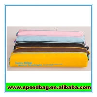 Long style PU pen bag wholesale pencil case