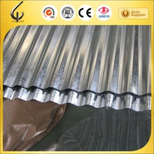 0.18mm thickness galvanized corrugated roofing steel sheets