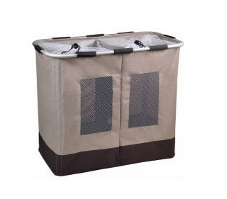 The dirty pocket classify visual collapsible laundry basket