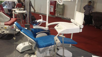 Dental Chair Unit with Color Spitton