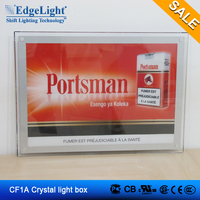 Robot automated production Single-sided Crystal Light Box with switch