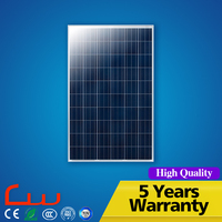 High Efficiency Good Performance 250 Watts 100W 24V Solar Panel