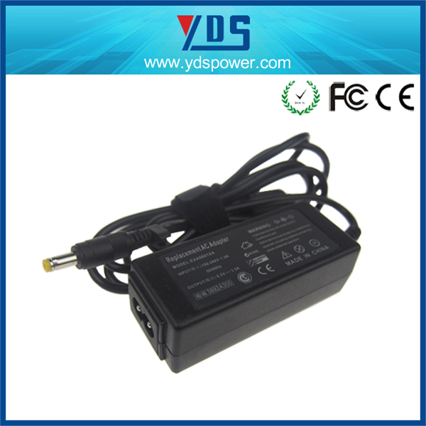desktop type power adaptor safety mark for mini laptop 9.5v 3.5a 34w 4.8*1.7mm with factory price