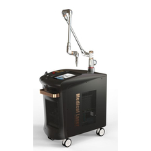 Stationary picosecond laser q switched nd yag laser tattoo removal and pigmentations
